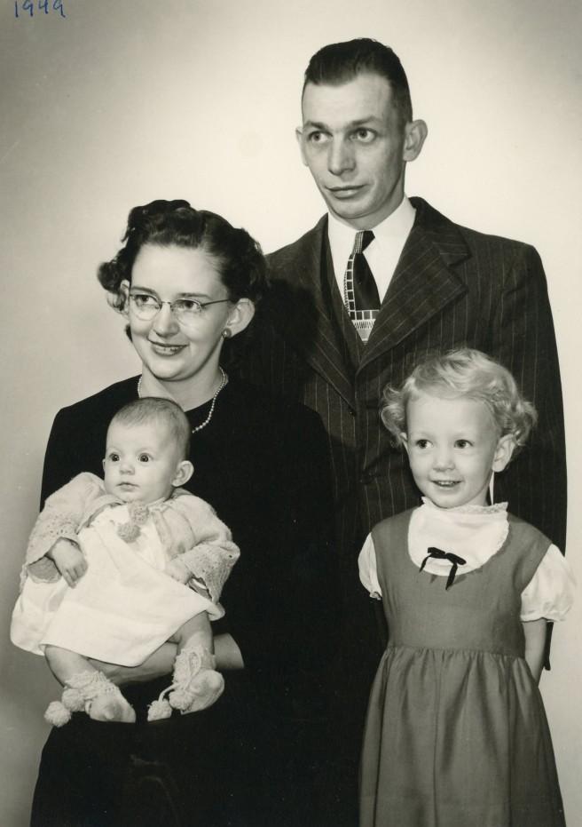 Vera Bill Connie Maggie 1949